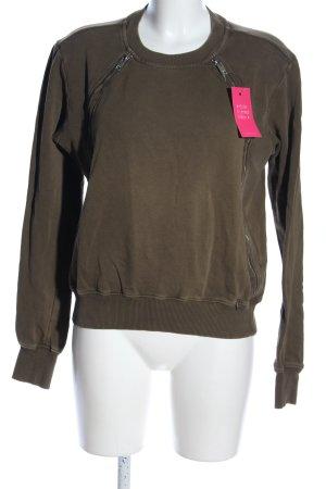 Diesel Sweatshirt khaki Casual-Look