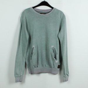 DIESEL Sweatshirt Gr. S grün locker gschnitten  (19/11/065*)