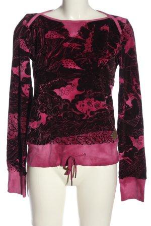 Diesel Sweatshirt lila-pink Mustermix Elegant
