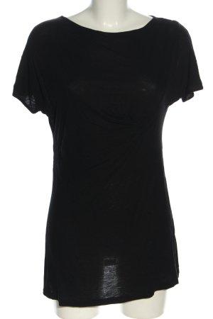Diesel T-Shirt schwarz Casual-Look