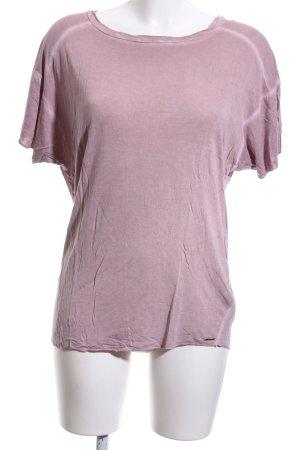 Diesel T-Shirt pink Casual-Look