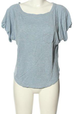 Diesel T-Shirt blau meliert Casual-Look