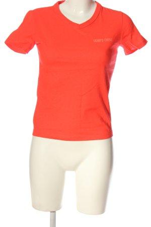 Diesel T-Shirt hellorange Casual-Look