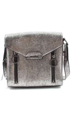 Diesel Traditional Bag gold-colored wet-look