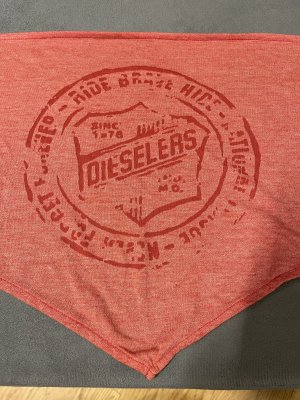Diesel Neckerchief bright red