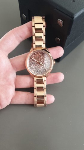 Diesel Watch With Metal Strap rose-gold-coloured