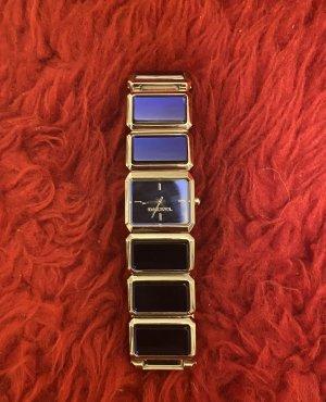 Diesel Uhr mit blauen Steinen