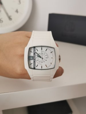 Diesel Analog Watch white