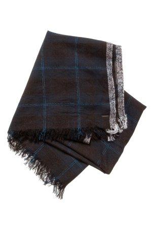 Diesel Écharpe à franges noir