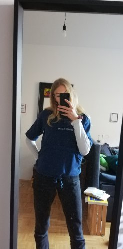 Diesel Sweater met korte mouwen blauw