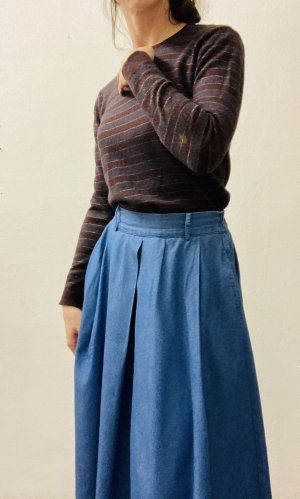 Diesel Maglione di lana talpa-rosso mora