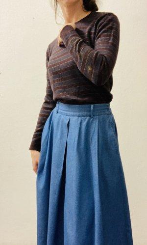 Diesel Woll-Pullover mit Streifen und Prints