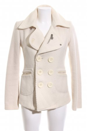 Diesel Wool Jacket cream business style