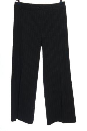 Dieter Heupel Pantalon fuselé noir-gris clair imprimé allover
