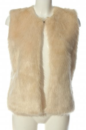 diff Fake Fur Vest cream casual look