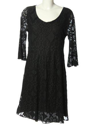 diff Spitzenkleid schwarz Elegant