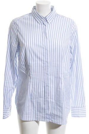 Different Hemd-Bluse blau-weiß Streifenmuster Casual-Look