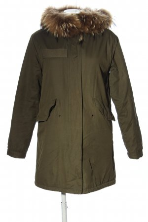 Different Parka khaki casual uitstraling