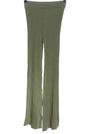 Dilvin High Waist Trousers khaki casual look