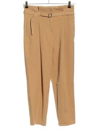 Dilvin High Waist Trousers cream business style