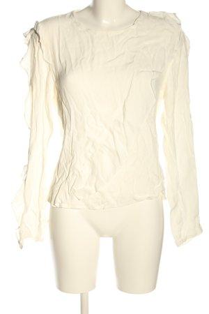 Dilvin Long Sleeve Blouse cream casual look