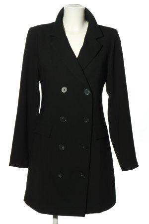 Dilvin Sukienka płaszczowa czarny W stylu biznesowym