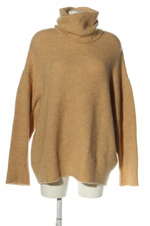 Dilvin Oversized Pullover blassgelb Casual-Look