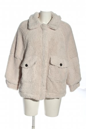Dilvin Teddy Jacket natural white casual look