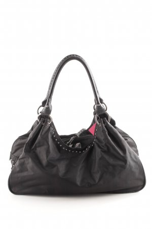 Dine 'n' Dance Henkeltasche schwarz Business-Look