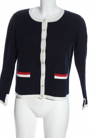 Dine 'n' Dance Knitted Cardigan blue-white casual look