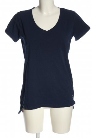 Dine 'n' Dance V-Neck Shirt lilac casual look