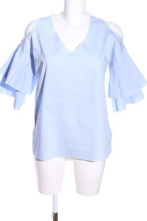 Dine 'n' Dance V-Neck Shirt blue casual look