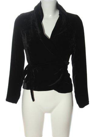 dino moda Short Blazer black elegant