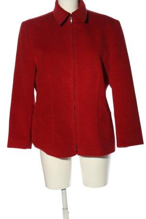 dino moda Wolljacke rot Casual-Look