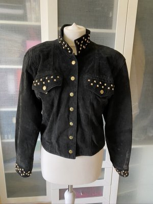 Dino'Z Leather Jacket black leather