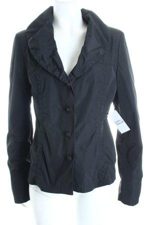 Dinomoda Jacke schwarz schlichter Stil