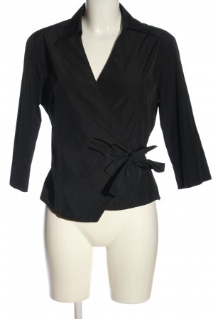 Dinomoda Wraparound Blouse black casual look