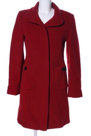 Dinomoda Cappotto in lana rosso elegante