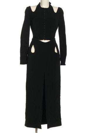 Dion Lee Sukienka z wycięciem czarny Elegancki