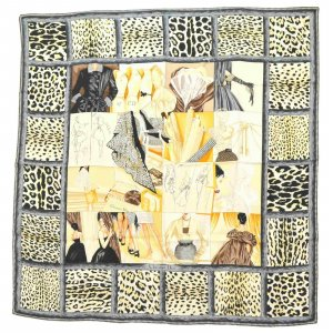Dior 100% Silk Scarf Cape Shawl