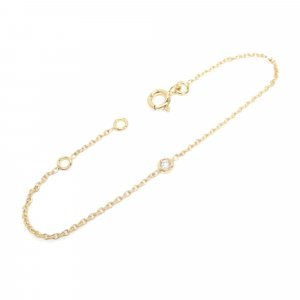 Dior 18K Diamond Mimioui Bracelet