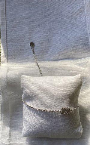 Dior Brazalete de plata color plata