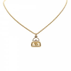 Dior Bag Pendant Necklace
