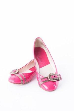 DIOR - Ballerinas mit Zierschnallen Pink