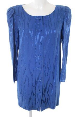Dior Blusenkleid blau Streifenmuster 80ies-Stil
