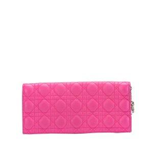 Dior Cannage Chain Leather Crossbody Bag