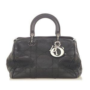 Dior Handbag black leather
