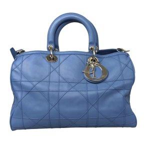 Dior Satchel blue leather