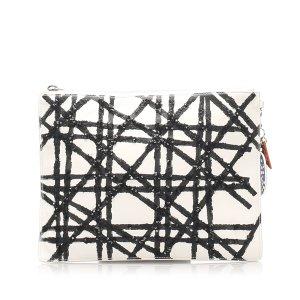 Dior Cannage Leather Clutch Bag