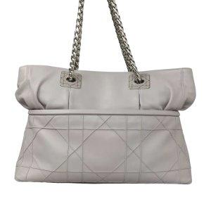 Dior Shoulder Bag light grey leather